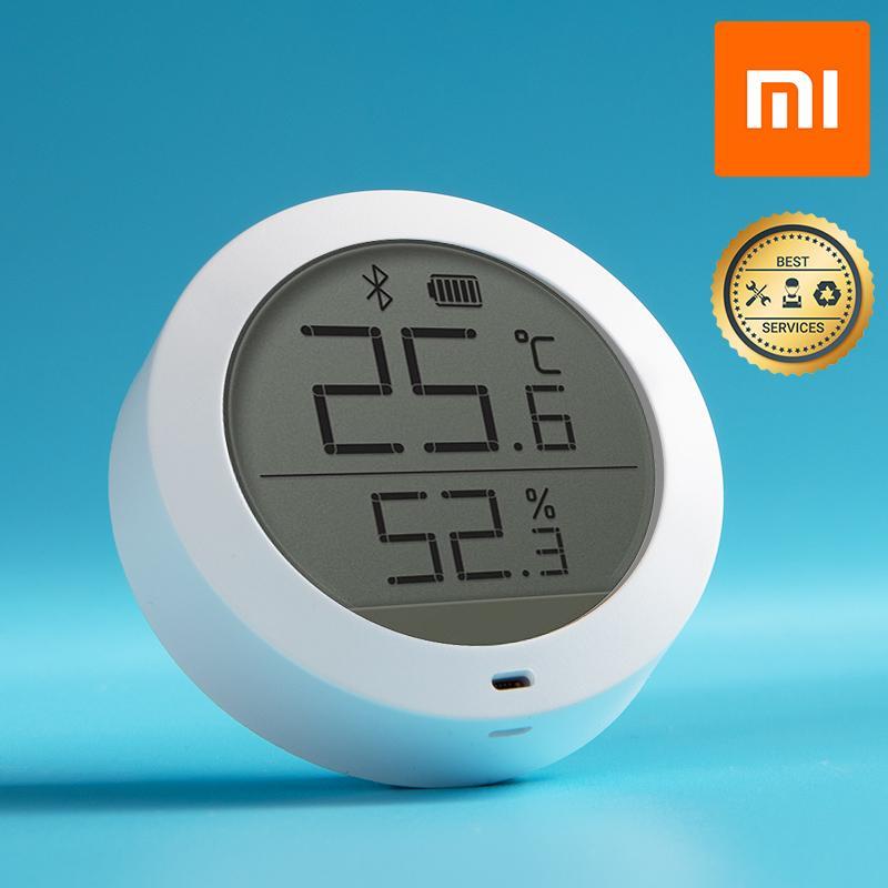 Thiết bị đo nhiệt độ và độ ẩm Xiaomi Cảm biến nhiệt độ độ ẩm Bluetooth Xiaomi