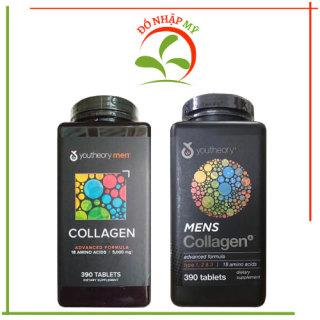 Viên uống Collagen Youtheory Men s Type 1, 2 & 3 dành cho nam 390 viên của Mỹ thumbnail
