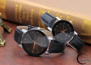 Đồng hồ nam nữ thời trang đeo tay dây da phong cách sang trọng ZO96 thumbnail