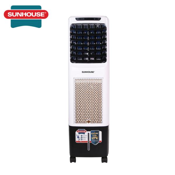 Bảng giá Quạt điều hòa không khí Sunhouse SHD7713, Công suất 85W, Lưu lượng gió 2000m3/h, Diện tích làm mát 20m2, Có điều khiển từ xa, tạo ion âm lọc sạch không khí - Có ảnh, video thật, bảo hành tại nhà