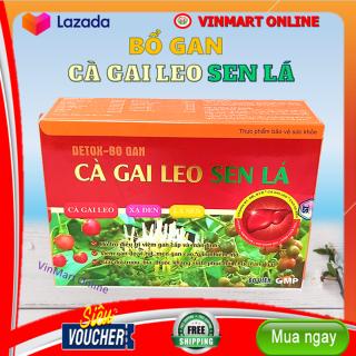 Viên Uống Thải Độc Gan- Giảm Mỡ Máu- Cà Gai Leo Sen Lá- Hộp 60 viên thumbnail