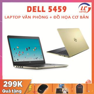 Laptop Đồ Họa Giá Rẻ, Laptop Dell Vostro 5459 Gold, i5-6200U, VGA Rời Nvidia 930M-2G , Màn 14 HD, Laptop Thiết Kế Đồ Họa thumbnail