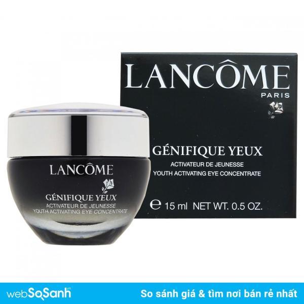 Kem dưỡng, trị thâm, trẻ hóa, căng mộng da vùng mắt Lancome Génifique Yeux Youth Activating Eye Cream 15ml nhập khẩu