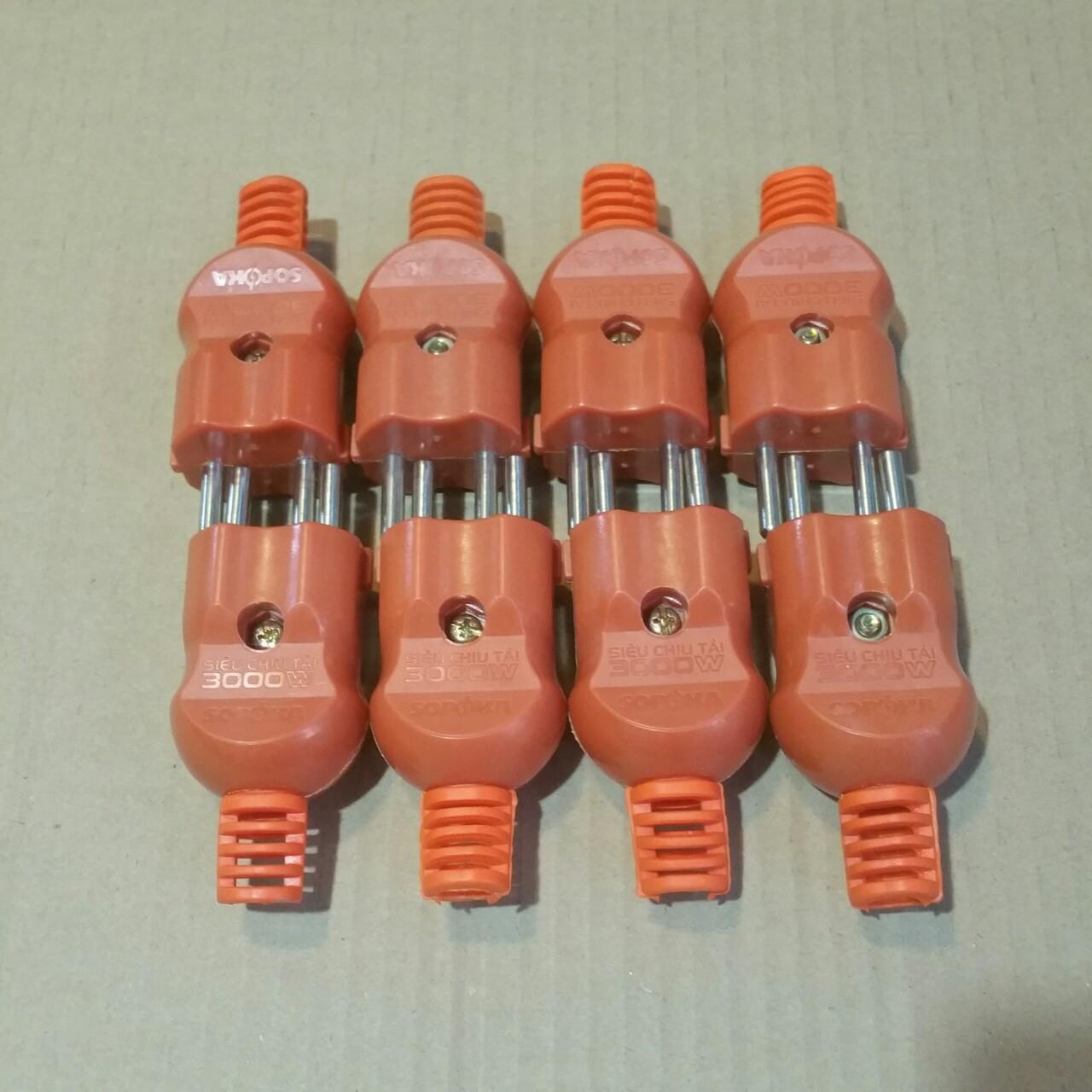 Bộ 8 cái phích cắm siêu tải 3000W SOPOKA- Model P3000W 2+ giá rẻ