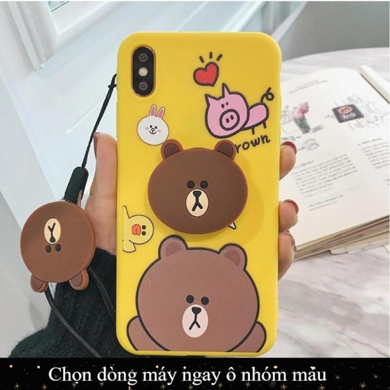 Giá Ốp silicon Gấu Thỏ Xiaomi Redmi 7,K20,K20 Pro,Mi 8,Mi 8 Lite,Mi 5X,Redmi Note 5 Pro,Note 6 Pro,Redmi note 7,Mi A2,Mi 6X,Mi A2 Lite,Redmi 6 Pro,Note 4,Note 4x,Note 5A Prime,Redmi 5,Redmi 5 Plus,S2,Mi 8 SE,Pocophone F1 kèm dây đeo và giá đỡ