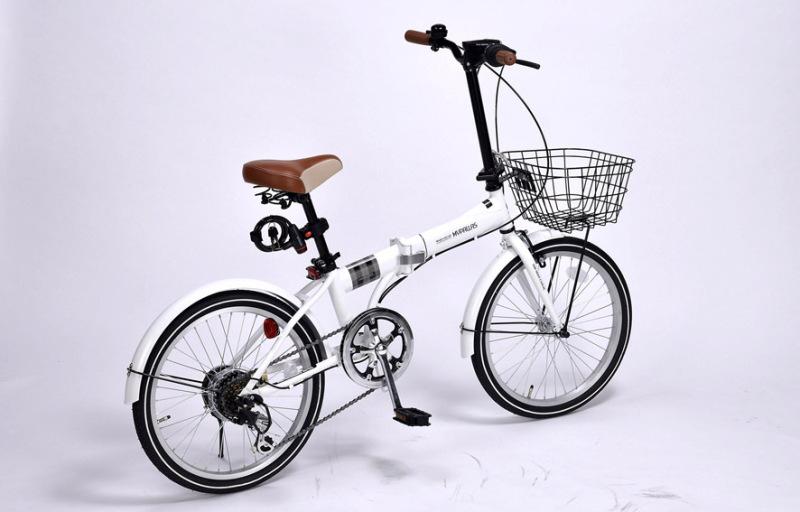 Phân phối Xe đạp gấp Mypallas M206 Noel hàng Nhật nội địa chính hãng