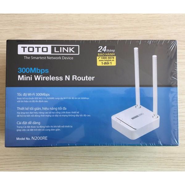 Bảng giá Phát sóng wifi Totolink N200RE - kèm kích sóng Wi-Fi chuẩn N 300Mbps Phong Vũ