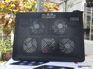 Đế Tản Nhiệt Laptop 4 Quạt V4 Siêu Mát thumbnail