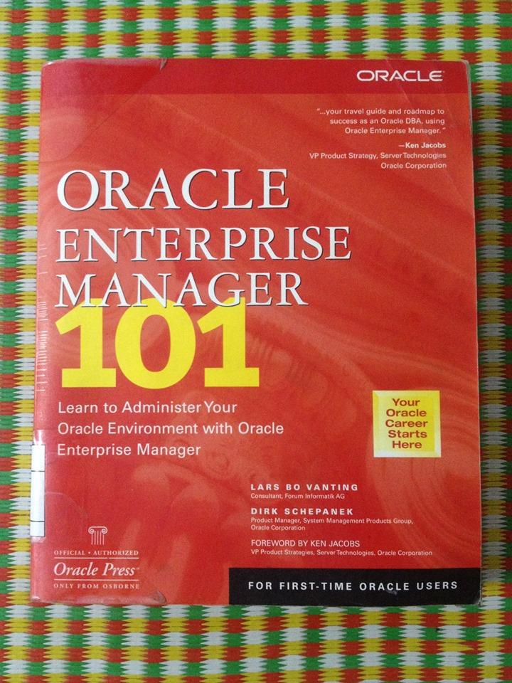 Mua ORACLE ENTERPRISE MANAGER 101