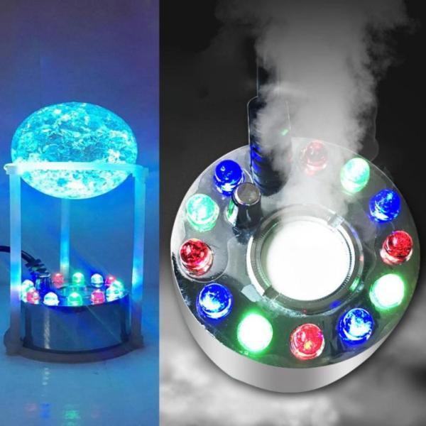 Máy tạo khói hồ cá + đèn Led