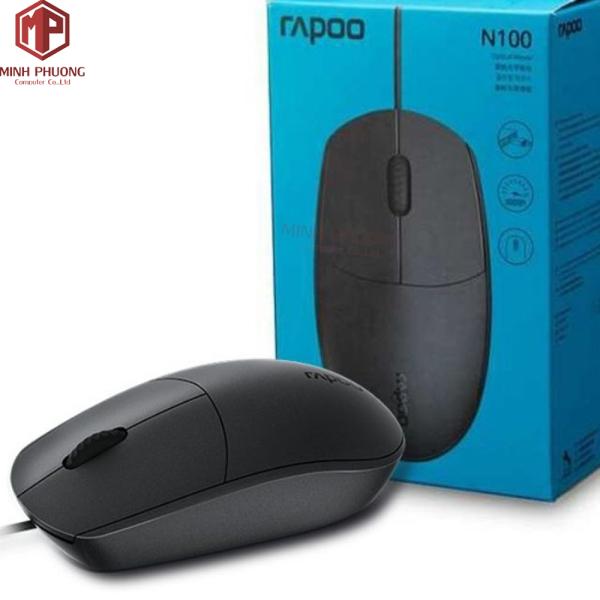 Bảng giá Chuột có dây Rapoo N100/ USB ( Màu Đen) Phong Vũ