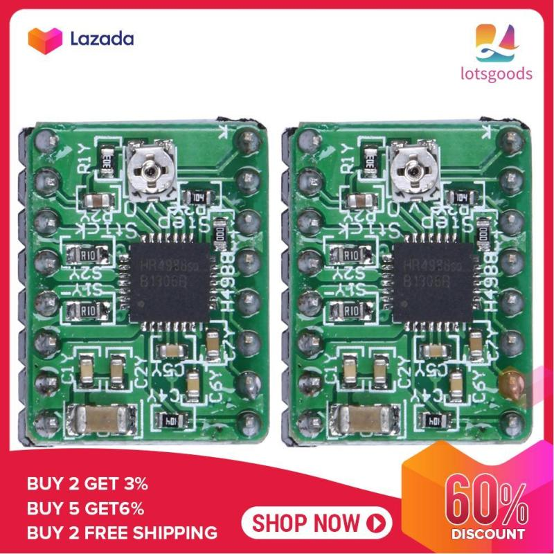 Bảng giá {9.9 Hot Sale Festival}2pcs A4988 Stepper Motor Driver Module 3D Printer Polulu StepStick RepRap (Green) - intl Phong Vũ