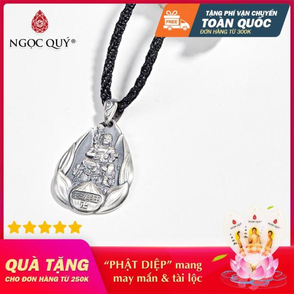 [HCM]Mặt Dây Chuyền Phong Thủy Nữ Tuổi Dậu Bất Động Minh Vương - Ngọc Quý Gemstones