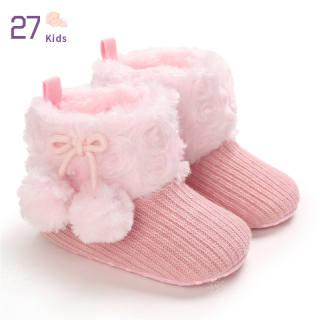 Bốt Đi Tuyết Thời Trang Trẻ Em 27 Giày Giữ Ấm Cho Trẻ Sơ Sinh Trẻ Sơ Sinh Bé Trai Bé Gái Cho 0-18M