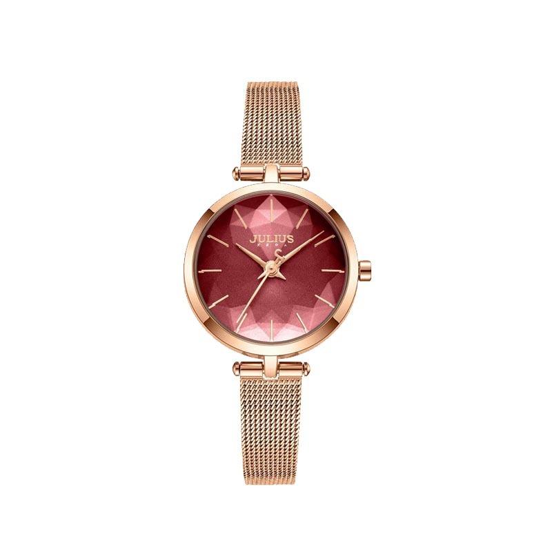 Đồng hồ nữ Julius Hàn Quốc JA-1225 dây thép (Chọn màu)