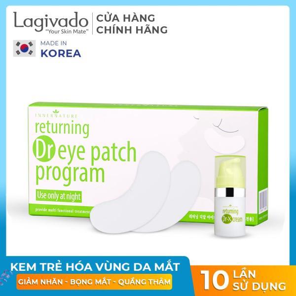 Kem tri thâm quầng bọng mắt Hàn Quốc Returning Dr EYE PATCH Program - hộp 10 liệu trình phù hợp cho nhiều loại da giá rẻ