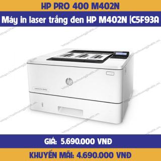 Máy in laser trắng đen HP M402N (C5F93A)-hàng chính hãng thumbnail