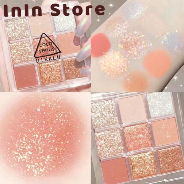 Bảng phấn mắt nhũ 9 ô Dikalu Coco Venus Nội địa trung - InIn Store giá rẻ