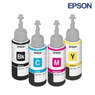 Bộ mực in phun 4 màu cho máy Epson L100, L110, L120, L200, L210, L220 - L100 thumbnail