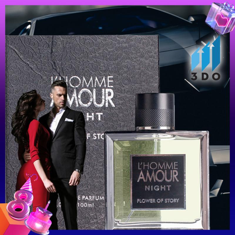 Nước hoa nam cao cấp L HOMME 100ml phân phối chính thức bởi 3DO, nước hoa quý ông, mùi hương cô đặc thơm lâu đến 8h, quý phái, lịch lãm. giá rẻ