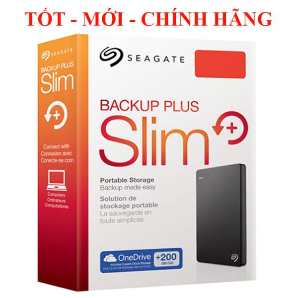 Bảng giá Ổ CỨNG DI ĐỘNG SEAGATE 500GB BACKUP PLUS SLIM Phong Vũ