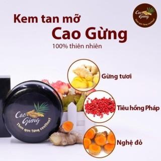 [Diệt Mỡ Bụng] CAO GỪNG TAN MỠ - KEM TAN MỠ CAO GỪNG thumbnail