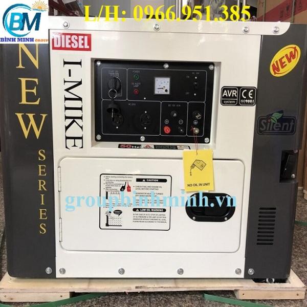 Máy Phát Điện Chạy Dầu 7Kw I-MIKE DG 9800SE