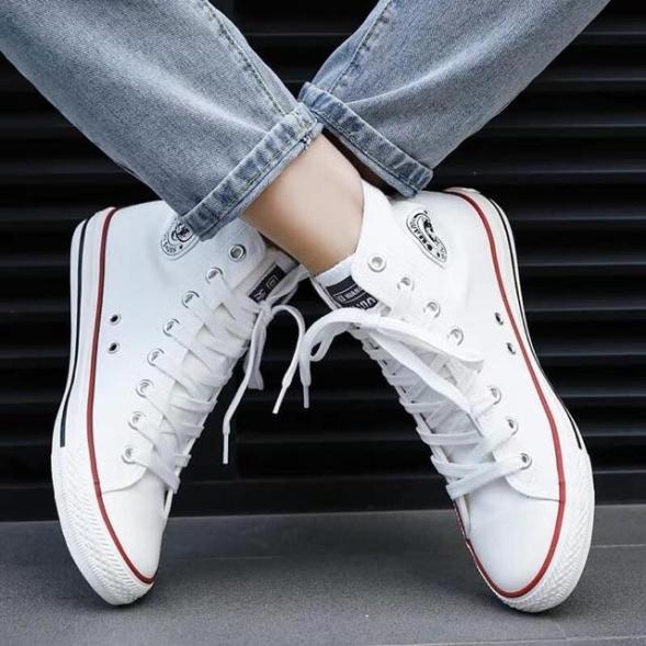 Giày sneaker Nam cv cao cổ mới Mixteen store giá rẻ
