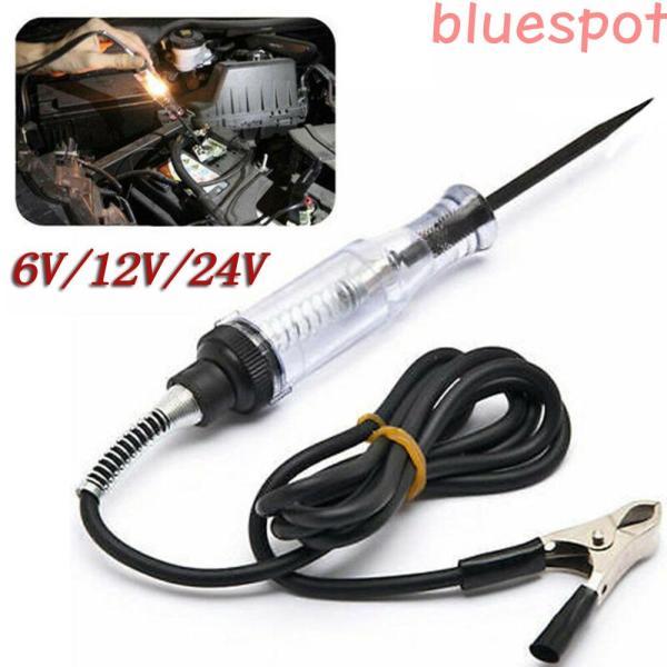 Bluespot Bộ Kiểm Tra Mạch Điện Áp Xe 6V/12V/24V Hệ Thống DC Đầu Dò Liên Tục Tự Động Kiểm Tra Ánh Sáng
