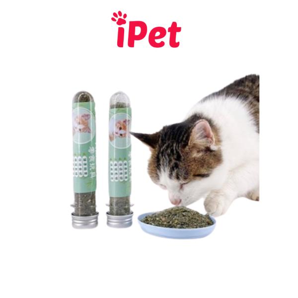 [HCM]Ống Cỏ Bạc Hà Catnip Hahale Cho Mèo Chơi - iPet Shop