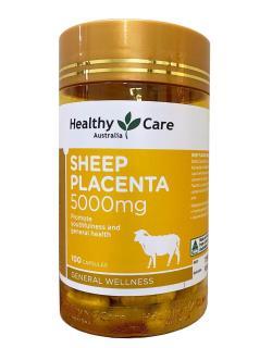 Nhau Thai Cừu Sheep Placenta Healthy Care 5000mg 100 Viên Của Úc thumbnail