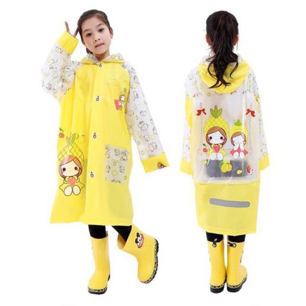 Giá bán Áo mưa trẻ em cao cấp hình thú đáng yêu cho bé 4-10 tuổi BBShine – AM005