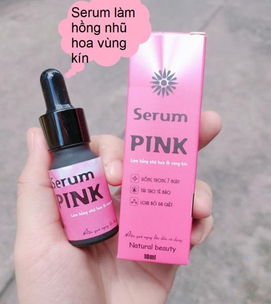 Tinh chất làm hồng nhũ hoa pink giảm nhanh thâm, ủ dưỡng, làm hồng ti, an toàn và hiệu quả nhanh giá rẻ