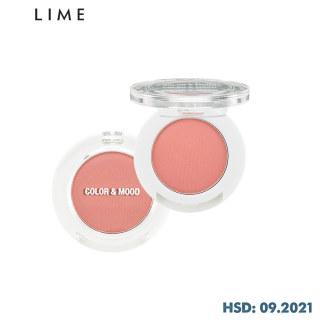 Phấn Mắt Không Nhũ Lime Color & Mood Single Shadow 1.4g, lớp phấn phủ mỏng tạo cảm giác nhẹ nhàng, mềm mại, không tạo nếp gấp thumbnail