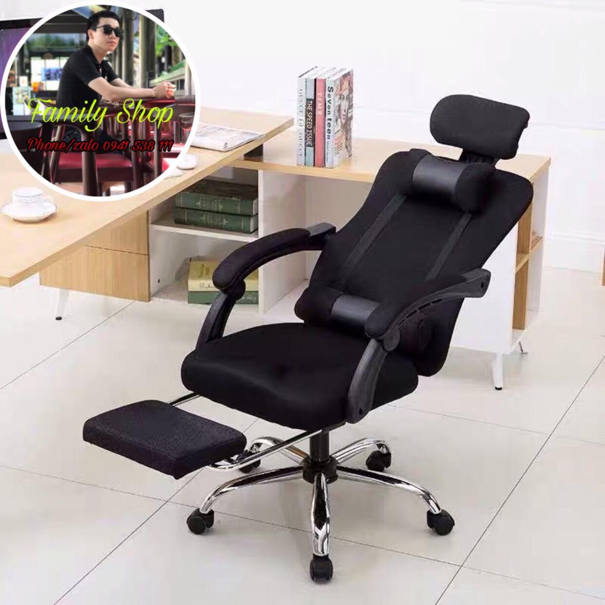 Ghế game, ghế xoay 360, ngả lưng, có gác chân giá rẻ