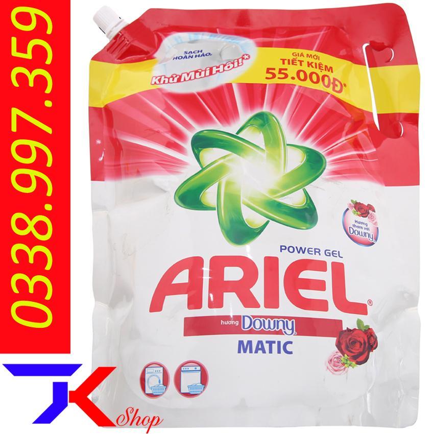 Siêu Tiết Kiệm Khi Mua Nước Giặt Ariel Matic Hương Downy Túi 2.15kg