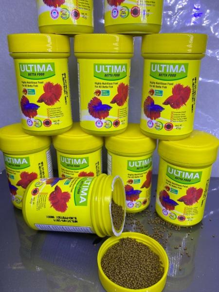 Thức ăn cho cá lia thia betta dạng  hạt 45 Gram Ultima T23