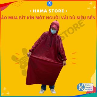Áo mưa bít một người vải dù siêu bền, áo mưa chống thấm kín người, GD_AM_001 thumbnail