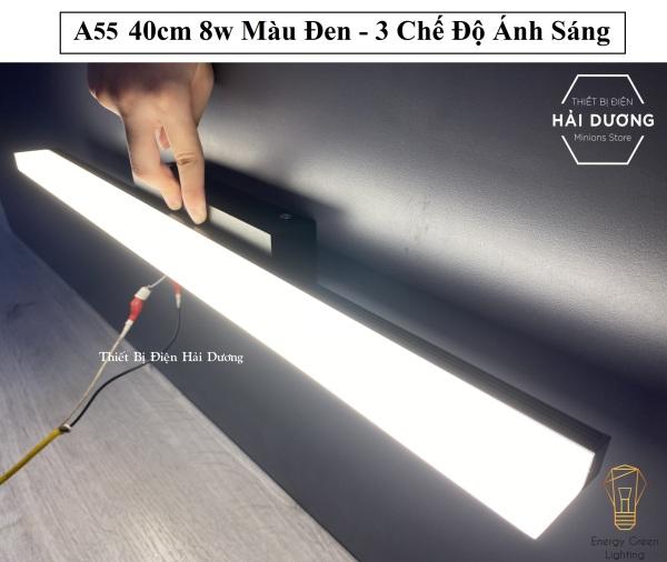Bảng giá Đèn Soi Tranh- Đèn Rọi Gương Led Model A55 40cm 8w - 3 Chế Độ Ánh Sáng