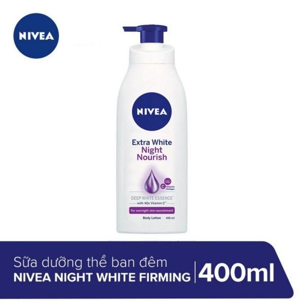 Sữa Dưỡng Thể Trắng Da Nivea Ban Đêm 400ml