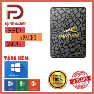[HCM]Ổ cứng SSD 240G Apacer Panther AS340 Sata III 6Gb s Bảo Hành 3 Năm Chính Hãng thumbnail