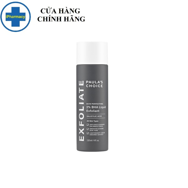 Dung Dịch Loại Bỏ Tế Bào Chết Paulas Choice Skin Perfecting 2% BHA 118ml