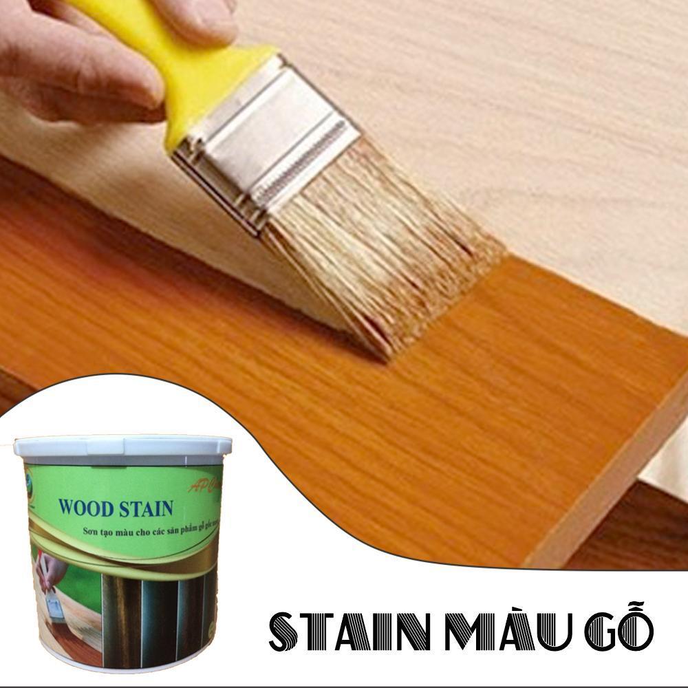 Sơn gỗ, sơn tạo màu WOOD STAIN Nhật Bản