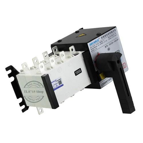 Bộ chuyển nguồn ATS-3P-100A, 3 pha 4 dây Gechele