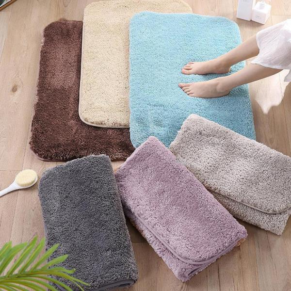Thảm chùi chân sàn phòng tắm phòng khách thảm lông siêu thấm lot san nha có thể giặt máy giặtThảm chùi chân sàn phòng tắm phòng khách thảm lông siêu thấm lot san nha có thể giặt máy giặt