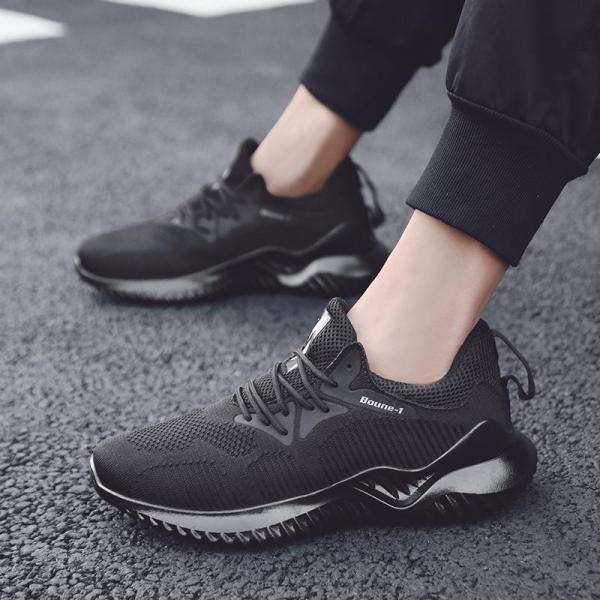 Giày nam sneaker thời trang thể thao năng động thoáng khí vải mềm cao cấp đi êm chân Boune GN304
