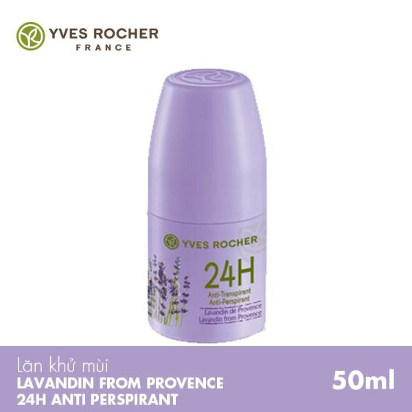 Lăn Khử Mùi Yves Rocher Lavadin From Provence 24H Anti-Perspirant  50ML cao cấp