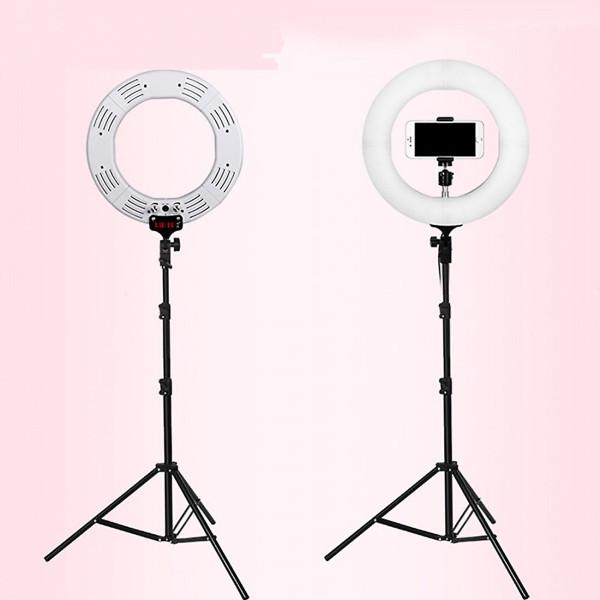 Bộ gậy đèn livestream 35 cm