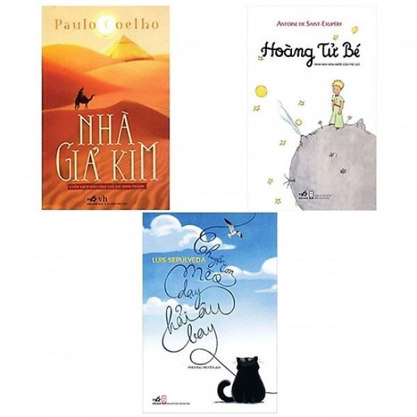 Mua Combo Nhà Giả Kim, Chuyện Con Mèo Dạy Hải Âu Bay và Hoàng Tử Bé