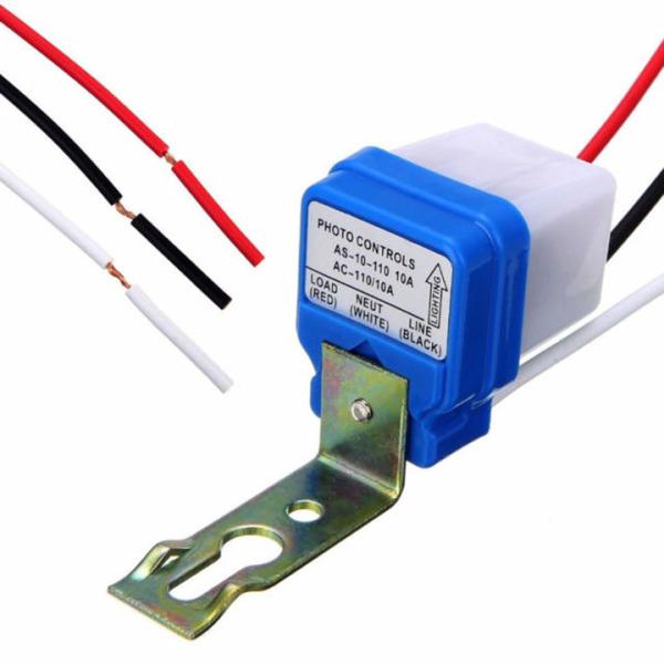 Thiết bị chuyển đổi bóng đèn thường thành bóng đèn cảm ứng tự động tắt mở khi trời sáng hoặc tối, công tắc cảm biến ánh sáng, Bảo Hành 1 đổi 1 công tắc cảm biến ánh sáng